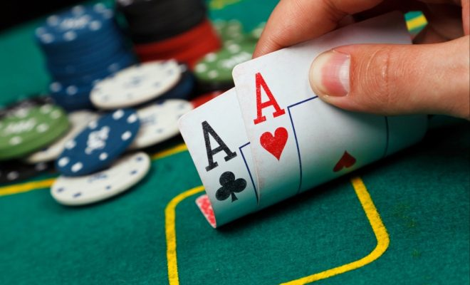 about the poker game